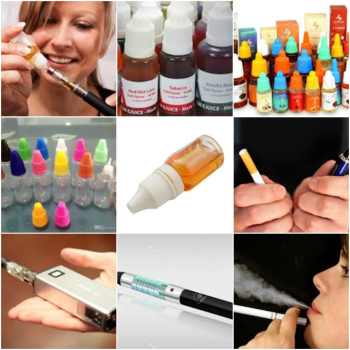 kinds of ecigarettes